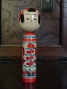 Kokeshi, Japanese Folk Toy; Zao-kei, Yamagata