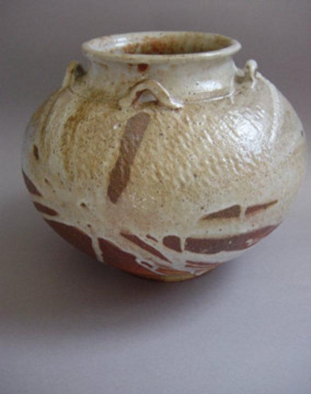 Woodfired Jar, Chatsubo; George Gledhill