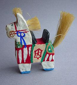 Matsue Hariko Koma, Paper Mache Horse Folk Toy