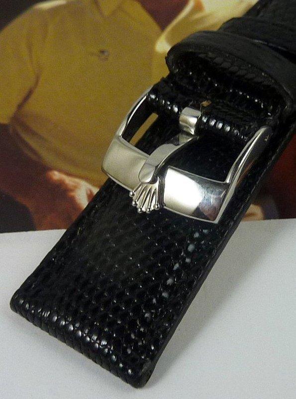 Rolex 16mm Steel Logo Buckle ROLEXSA ACIER INOX Swiss