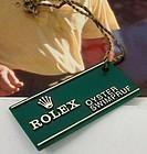 New Rolex Watch Serial No. I.D. Tag. Genuine RA