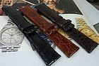 CROCODILE replacement Straps 20mm or 19mm with 16mm buckle fit