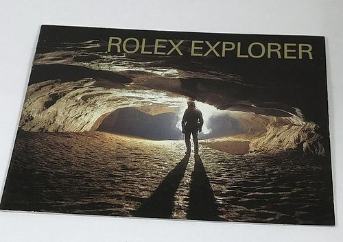ROLEX EXPLORER I and II Brochure 11 pages 3.5 by 3.75 inch size