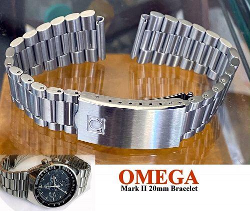 OMEGA Speedmaster MARK II SS Deployment Bracelet 1162/173