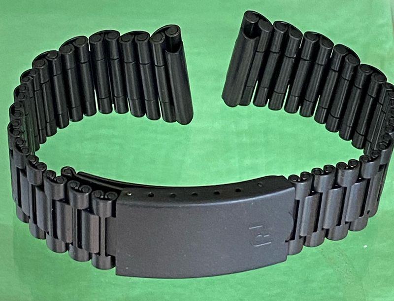 PORSCHE Lemania 5100 PVD BRACELET 20mm Factory Genuine Original Unuse