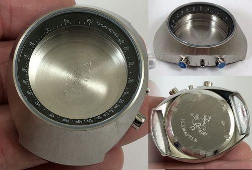 OMEGA SEAMASTER MARK III CHRONOGRAPH CASE BLACK BEZEL 176.002