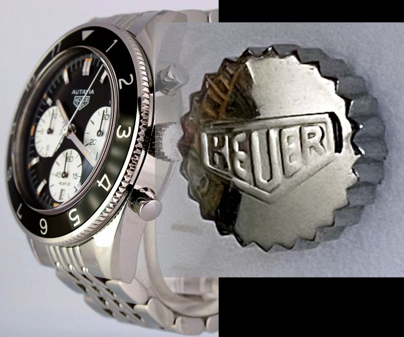 TAG HEUER ACTAVIA CBE2110 Stainess Steel Crown Only