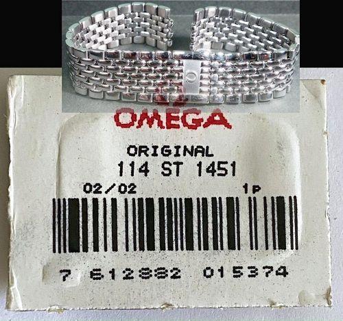 OMEGA Caliber 1451 Original Link.  114 ST 1451 Factory packaged unused