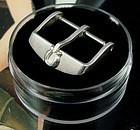 Vintage Omega 18mm Silver Logo Buckle Speedmaster Series BOMBAY Design