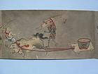 Hand scroll, hyakki yako, Yoshinobu, Kano,Japan 18th c.