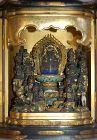 Zushi portable shrine, Benzaiten Daikoku Bishamonten, jugodoji, Japan
