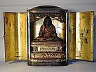 Zushi, figure of Nichiren, Japan, Edo period/18th c.