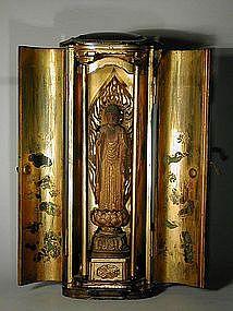 Zushi, sculpture of Amida Nyorai, Japan, Edo period