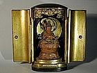Zushi with figure of Benten, Japan, 19th century