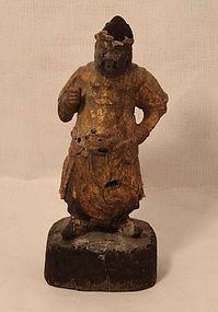 Ming Dynasty Guardian King figure