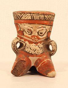 Fine Costa Rica Pre Columbian Nicoya figure