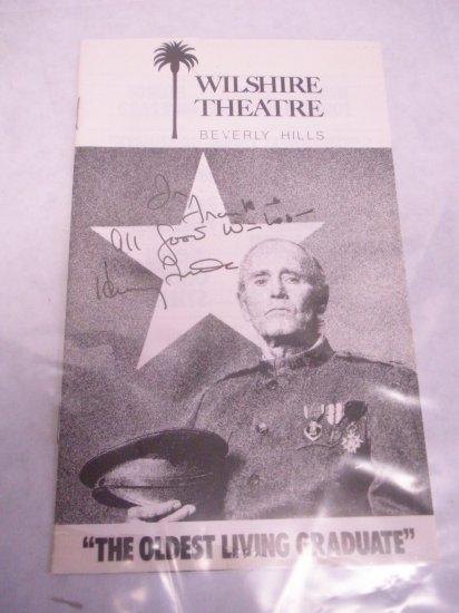 Henry Fonda autograph on a Play bill