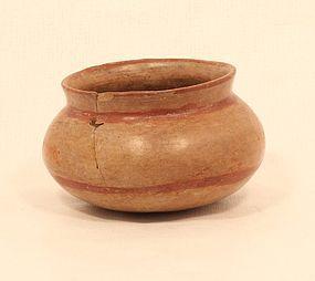 Ecuadorian Pre Columbian Terracotta pot