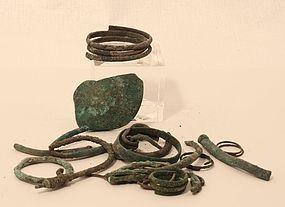 Group Lot of Roman Bronze Fragments