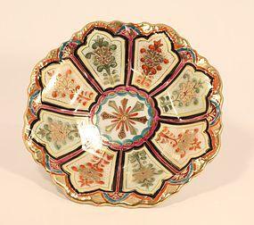 Japanese Kutani style bowl