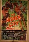 Bomba The Hidden City C 1950 Lithograph poster