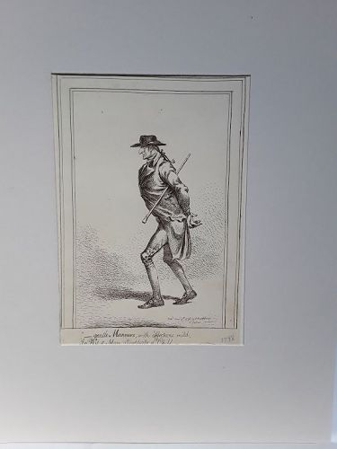 18th c English Caricature By James Gillray  H Humphrey St James St v9