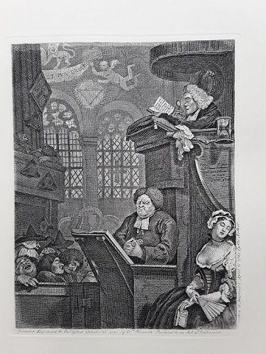 """""""William Hogarth"""" The Sleeping Congregation Heath ed"""