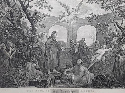 """William Hogarth"" The Pool of Bethesda Heath ed"