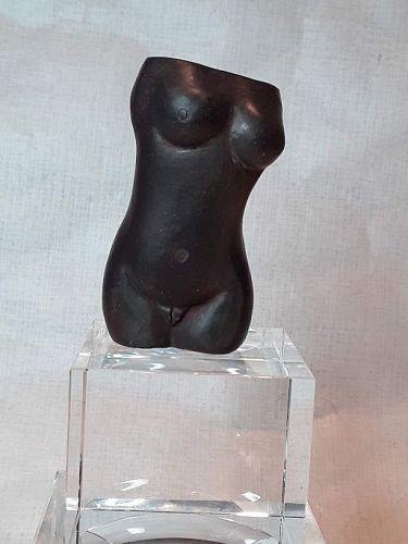 "Alexander Ney Russian American sculptor ""Brown Torso"" N4"