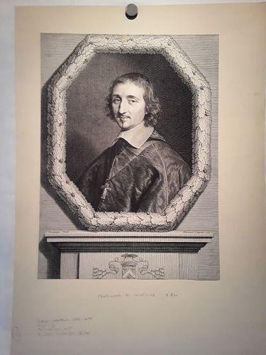 Ferdinand de Neufville by Robert Nanteuil (French, 1623-1678)