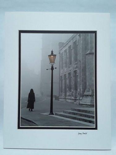 """Garry Seidel """"Woman in Fog"""" York England"""