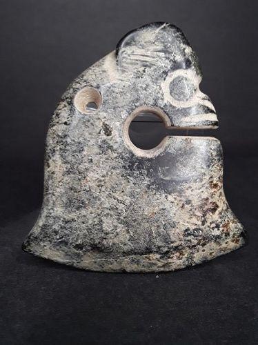 Hongshan nephrite Jade Zhulong pig dragon ax Pendant