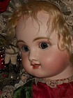 Rare Large French Bisque Bebe Steiner Figure B with Lever Eyes