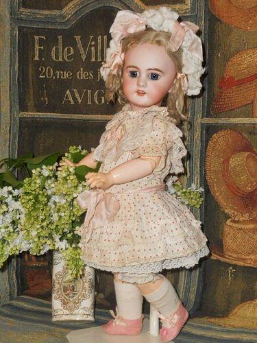 ~~~ Lovely Antique French Market DEP Bisque Bebe ~~~