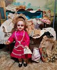 ~~~ Darling French Size 1 Bebe DEP with Trousseau ~~~