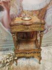 ~~~ Outstanding French Bronze Miniature Boudoir Table for French Poupe
