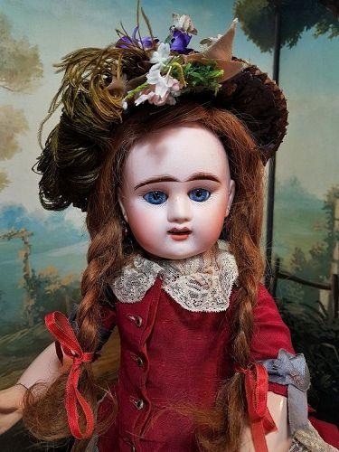 ~~~Lovely French Bisque Bebe Girl by Denamur ~~~
