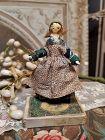 ~~~ Lovely Small Grodnertal Wooden Doll in Original Costume ~~~
