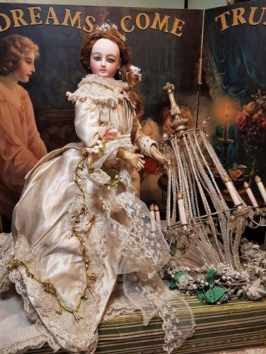 ~~~ Gorgeous French Bisque Poupee by Louis Doleac ~~~