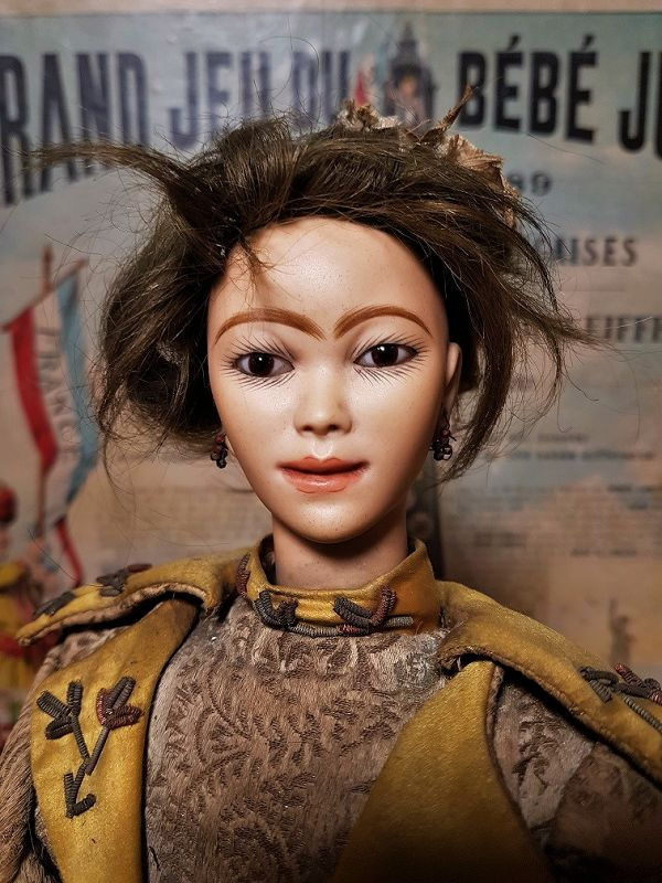 "~~~ Rare French Musical Automaton by Lambert "" Chinoise Verseuse "" ~~~"