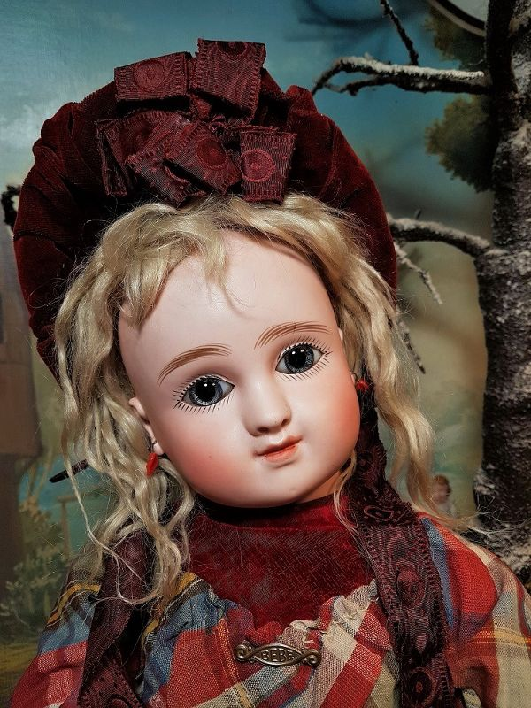 ~~~ Beautiful Series C French Bisque Bebe by Jules Steiner ~~~