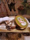 ~~~ Rare French Poupee Necklace in Original Box / circa 1870 ~~~