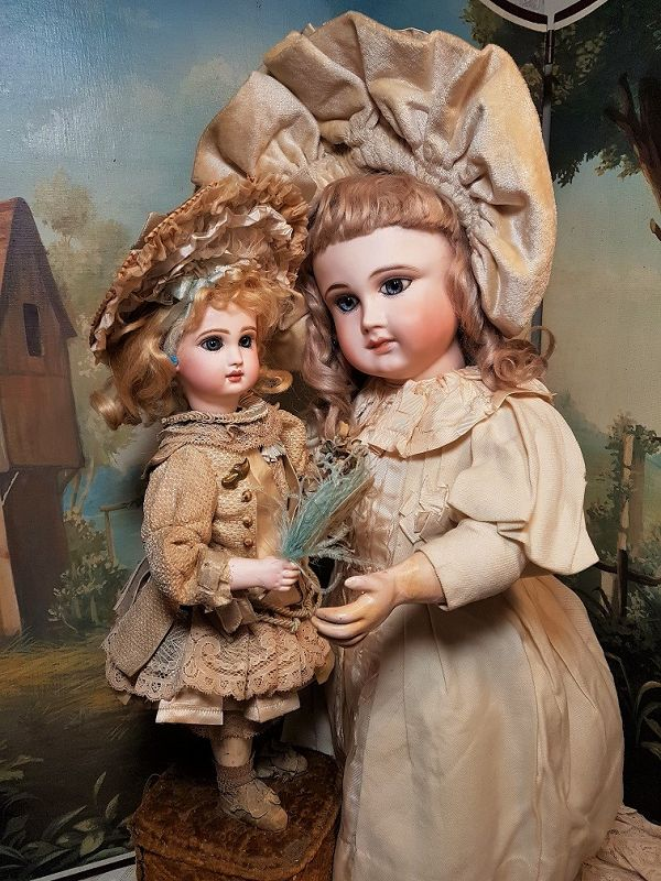 """Rare """" Bebe Eventail """" Antique Musical Automaton by Leopold Lambert"""