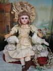 Gorgeous Rare French Schmitt et Fils Bebe in Original Clothing