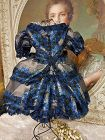 ~~~ Pretty Home Made French Poupee Enfantine Gown ~~~
