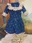 French Jumeau Factory Bebe Dress size 6 or 7 / from 19th. Century