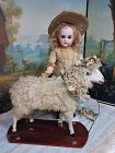 ~~~ Beautiful Early Large Sheep from 19th. Century ~~~