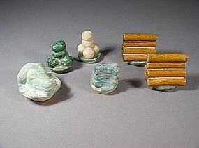 Chinese earthenware tomb offerings