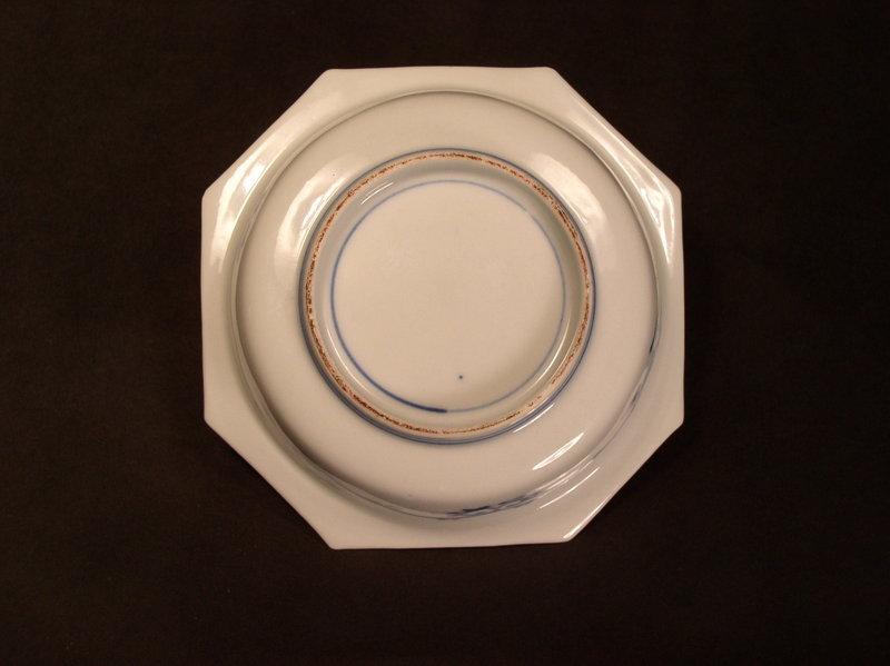 Japanese Kakiemon enameled porcelain dish