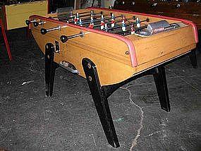 Vintage French Bonzini Foosball Table Model B60